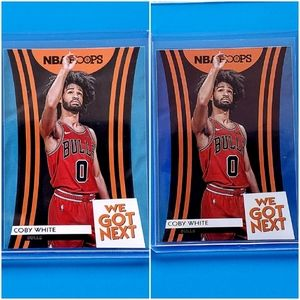 2019-20 Coby White Rookie Lot